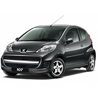 Peugeot 107 Boot Liner (2005 - 2014)