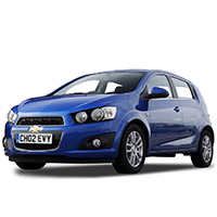 Chevrolet Aveo Boot Liners