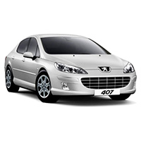 Peugeot 407 Coupe 2004 Onwards